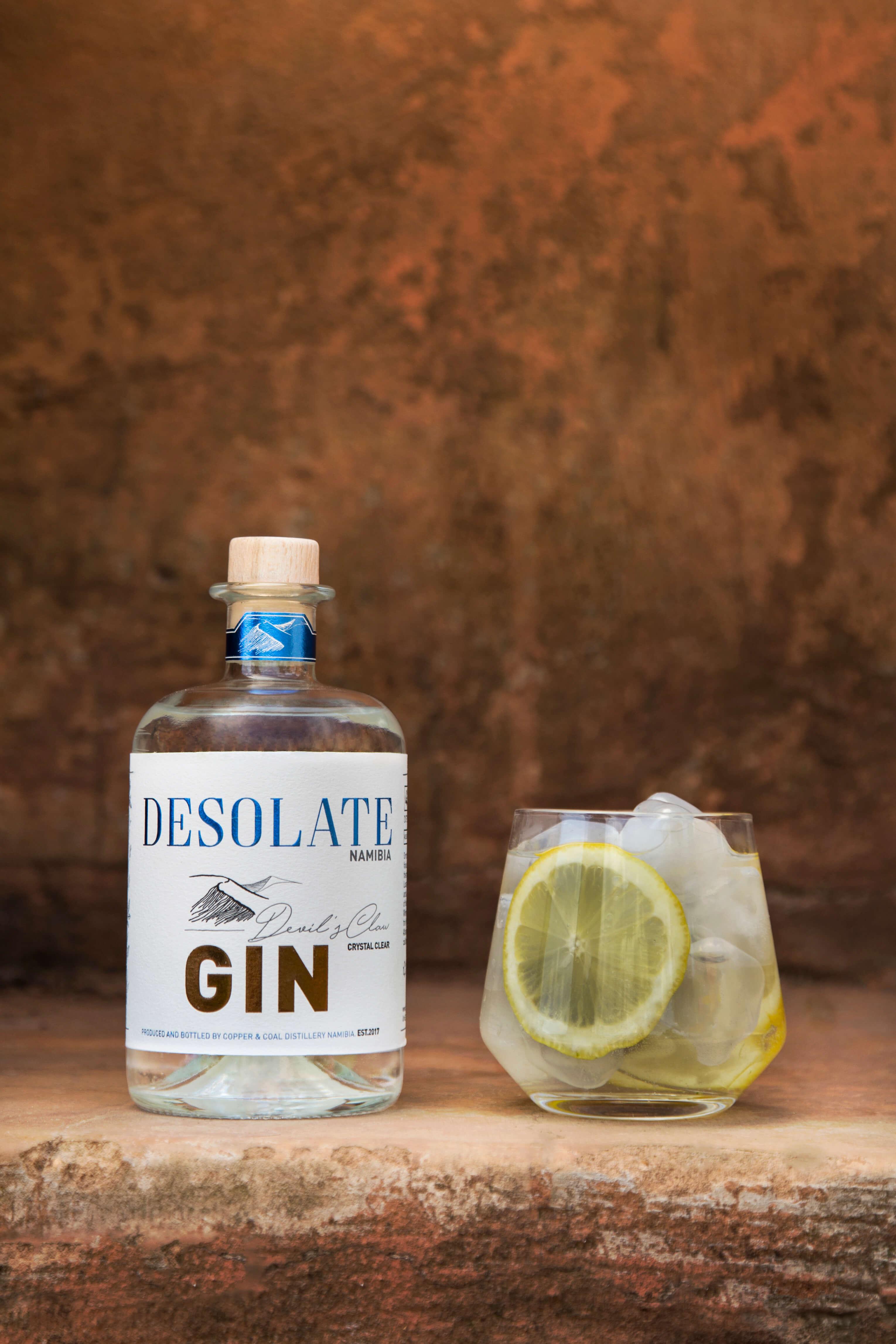 desolate gin - walvis bay