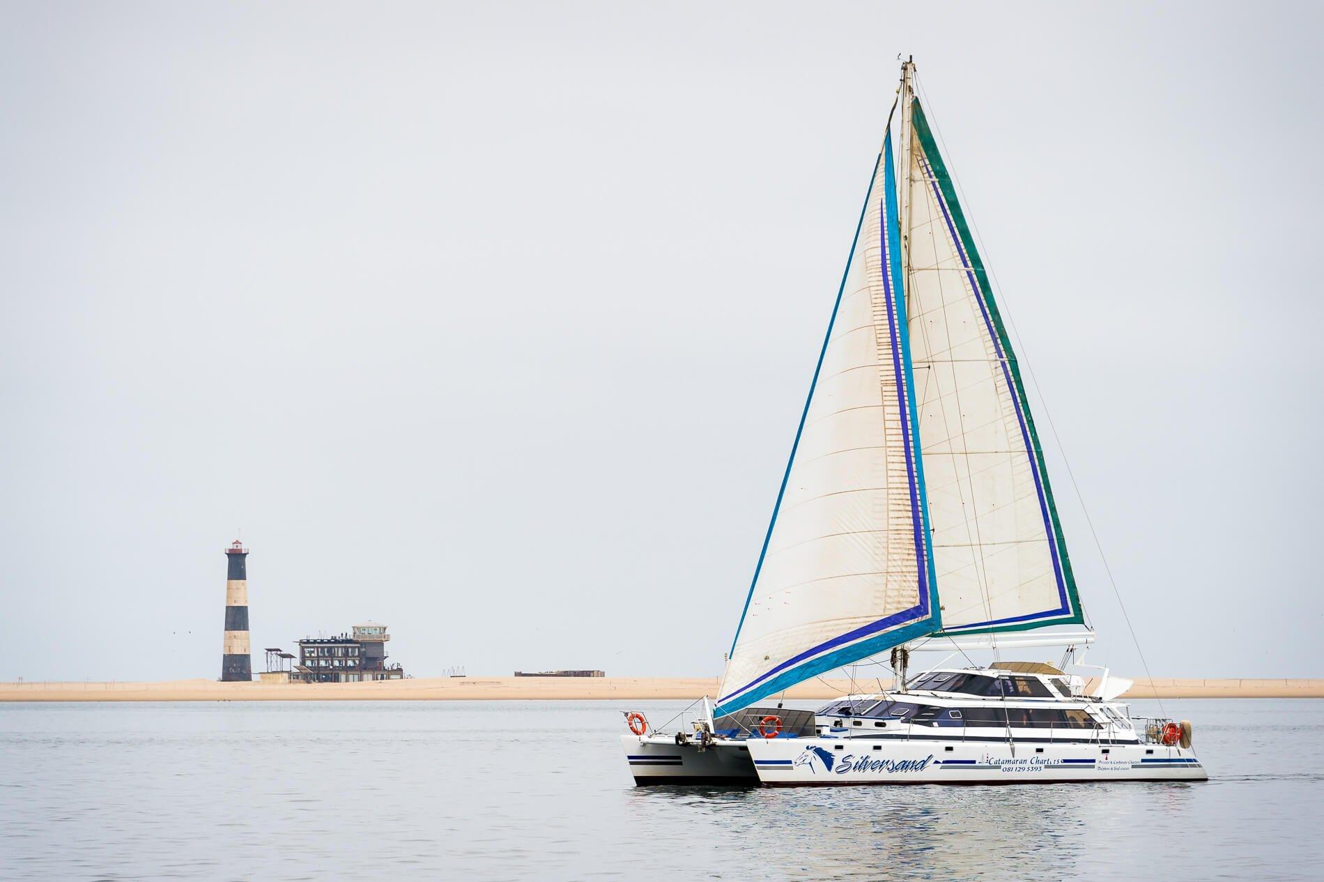 catamaran charters - namibia
